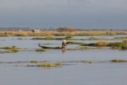 visser van Inle lake